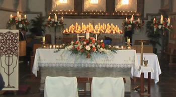 candleabra for the church alter