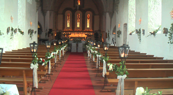 red carpets for church weddings